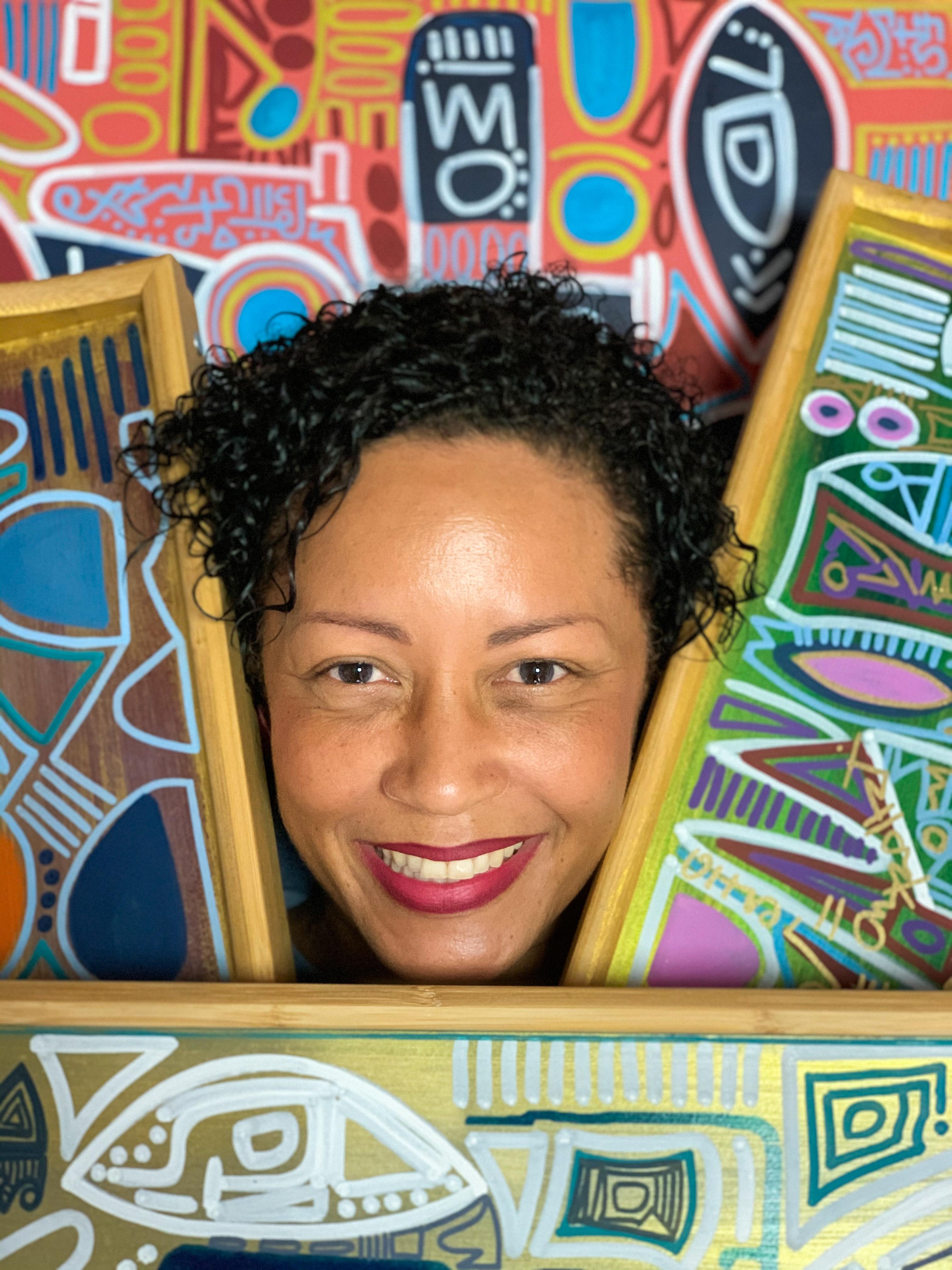 Carole Aurore the artist The Caribbean R