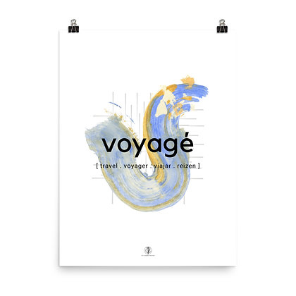 Creole Series Voyagé Art Poster