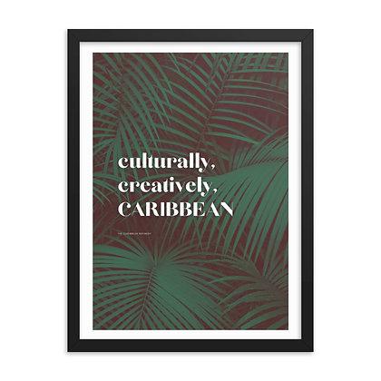 Tropical Triple C Framed Poster