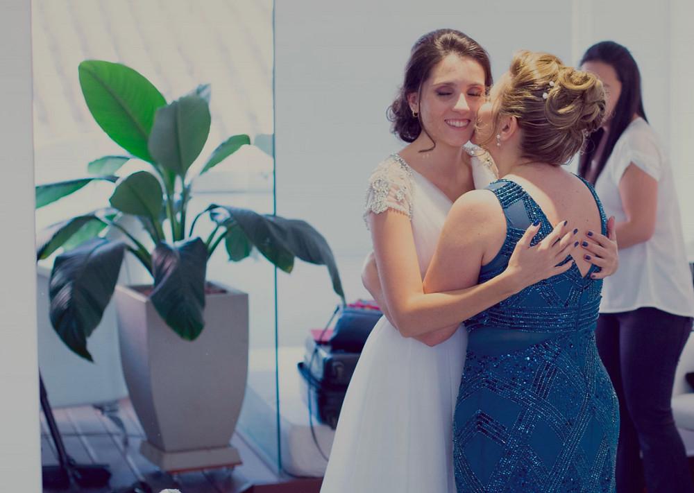 mãe, eu casei
