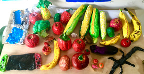 野菜の模刻