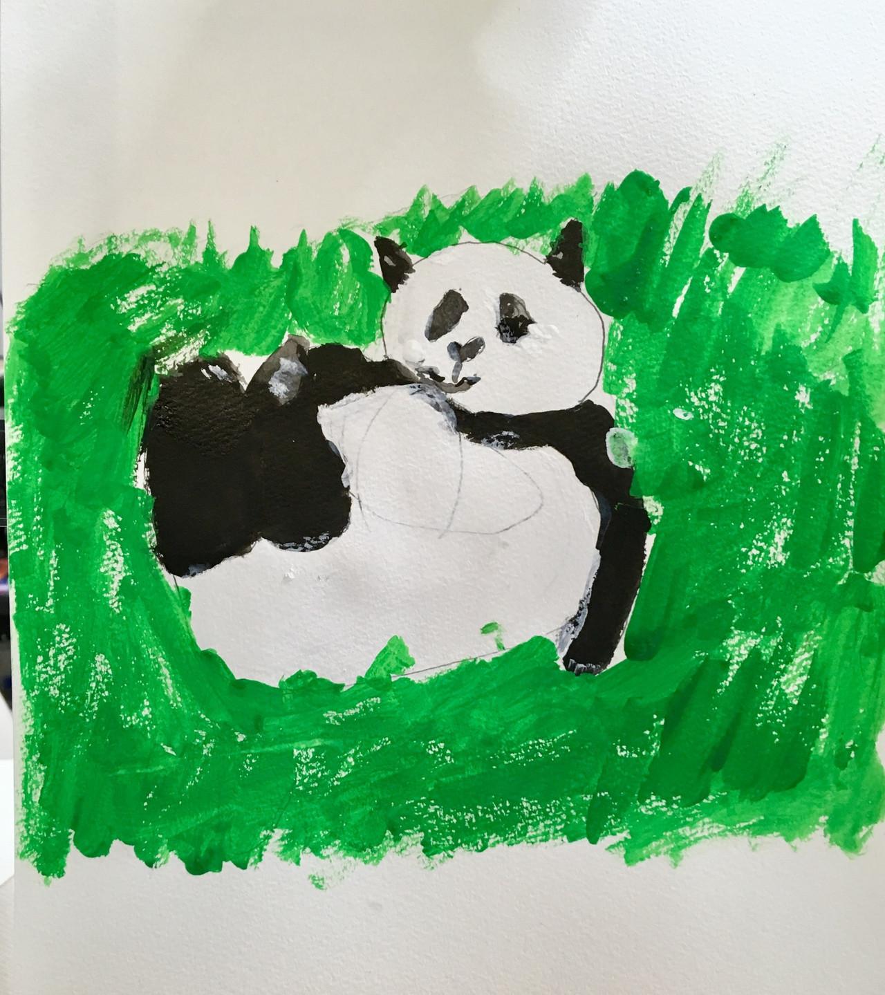 小2: パンダ