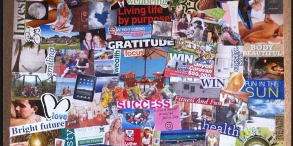 Créez votre vie désirée - formation et création de votre tableau de visualisation