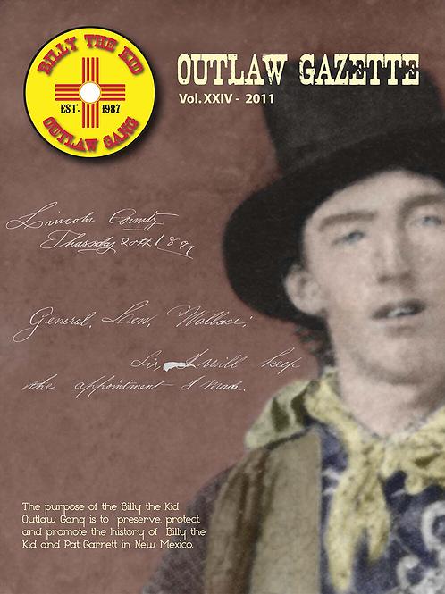 2011 Outlaw Gazette