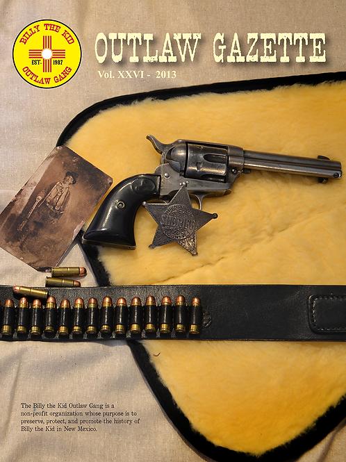 2013 Outlaw Gazette
