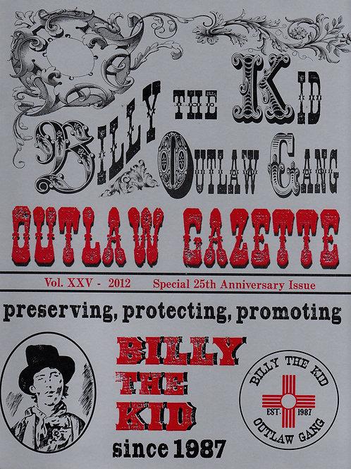 2012 Outlaw Gazette