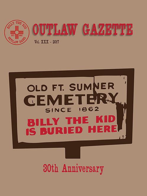 2017 Outlaw Gazette