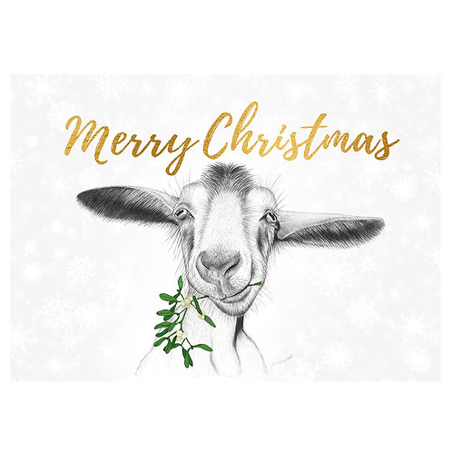 Christmas Card - Billy Goat