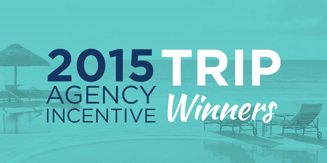 2015 Agency Incentive Trip Winners