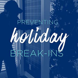 Tis' the Season for Break-Ins!