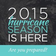 Hurricane Season is Here!