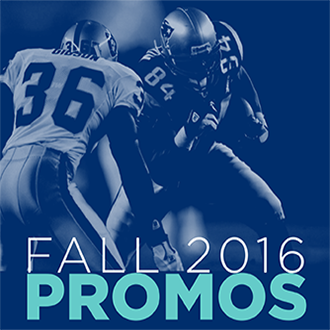 Are You Ready for Some Fall Promos?