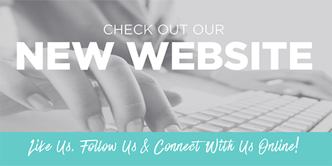 Like Us, Follow Us & Connect With Us Online ... Check Out Our Brand New Website!