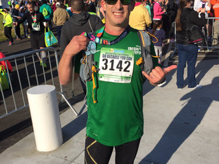 John Beausang of Distressed Mullet Completes First Half Marathon