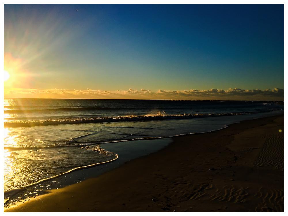 Sunrise Run on Bald Head Island. Running Mantra = Gratitude