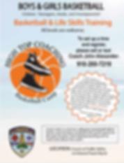 Boys & Girls Basketball Camp Flyer