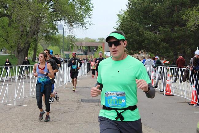 Joel Reader Denver Cofax Marathon
