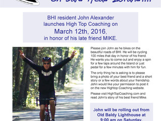 Bike with John and Share Your Story