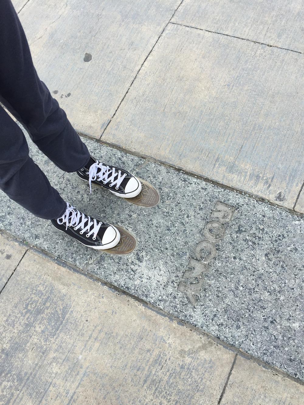 Madeline in Rocky's Footsteps