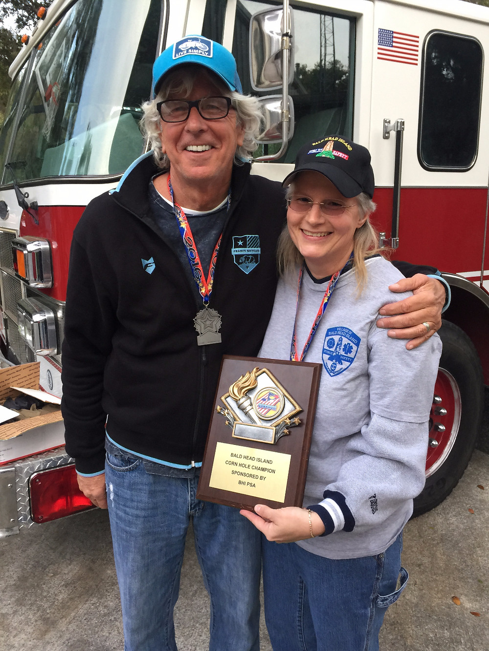 John and Tonya 2016 Cornhole Champions