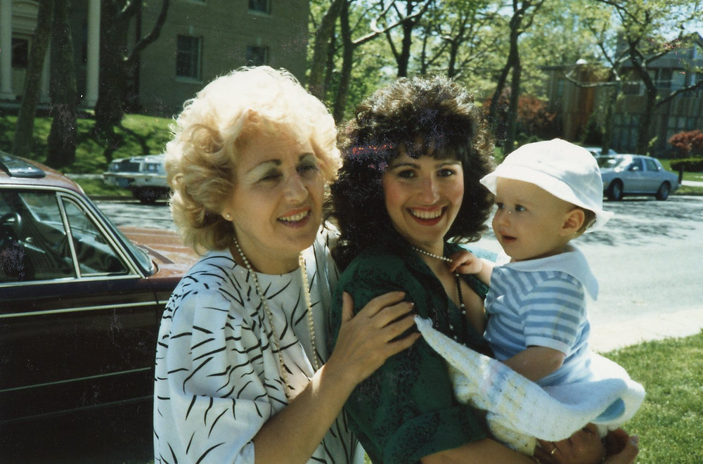 Barbara and Her Mom with Tyler