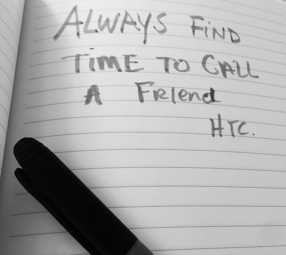 Always Find Time to Call a Friend