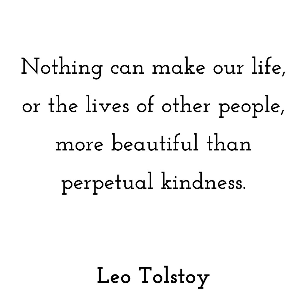 Tolstoy's Perpetual Kindness