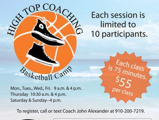 High Top Coaching Basketball Camp