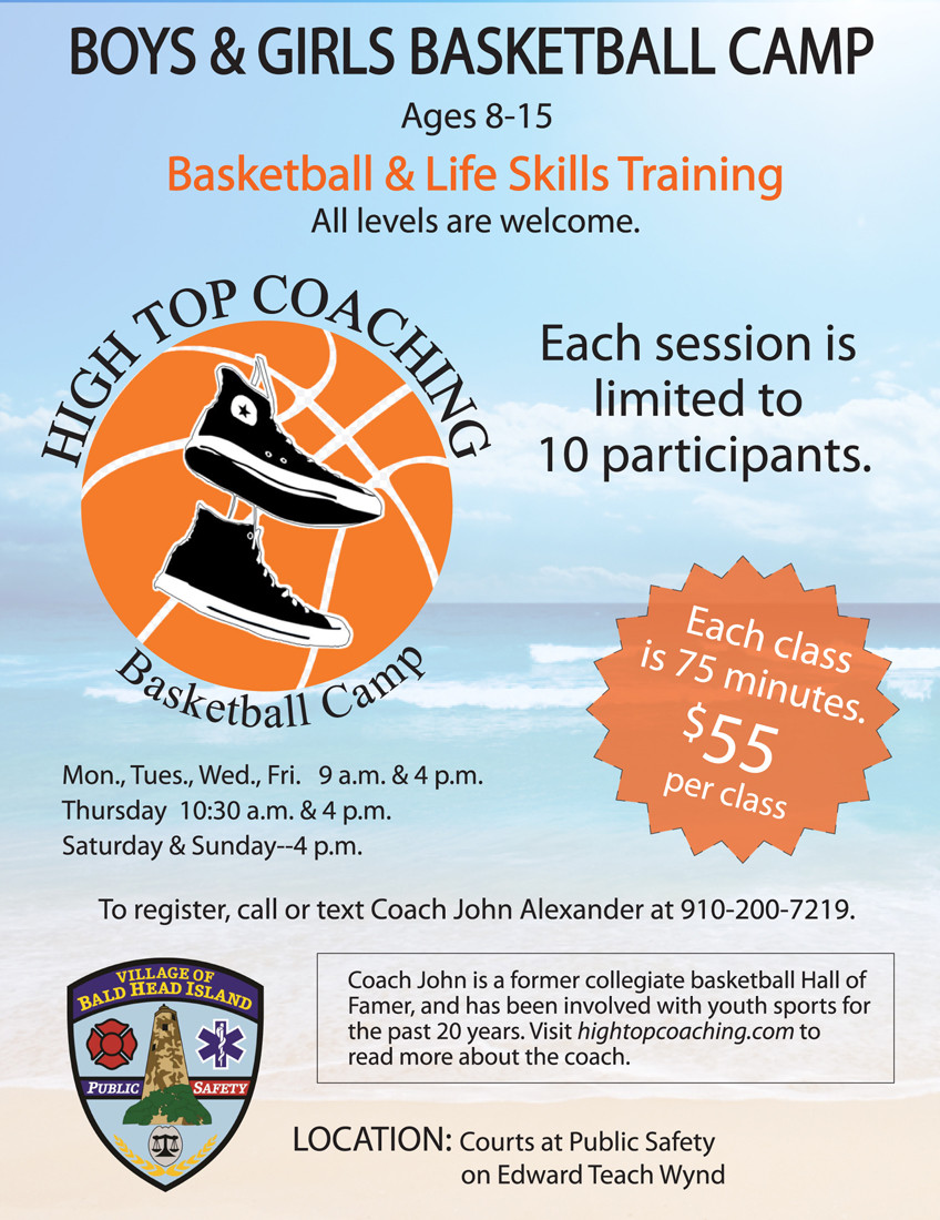 High Top Coaching Basketball Camp