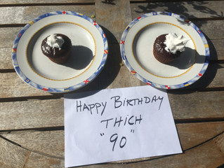Happy 90th Birthday, Thich Nhat Hahn!!!