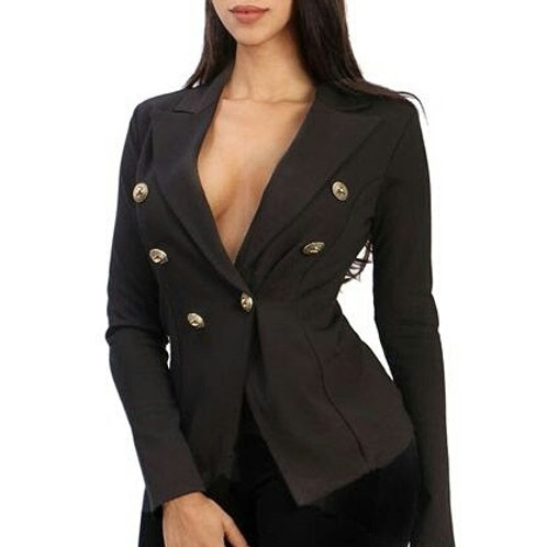 Sexy Black Blazer