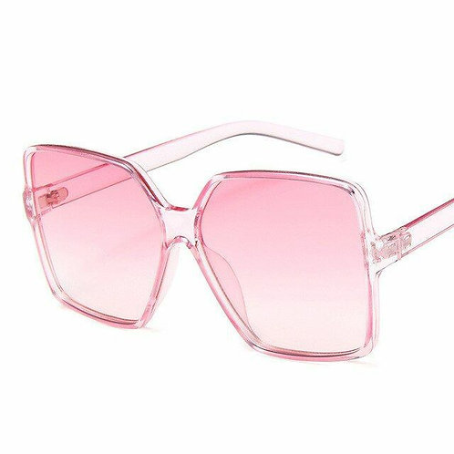 Pink sexy big frame glasses