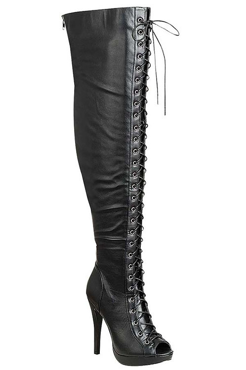 Black Gladitor Boots