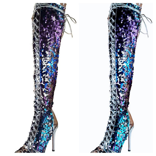 Sequence fashion boots