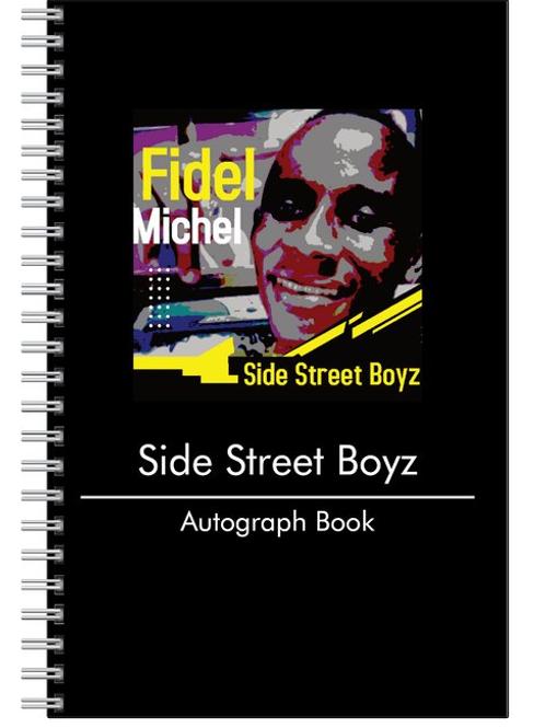 Side Street Boyz Autograph book