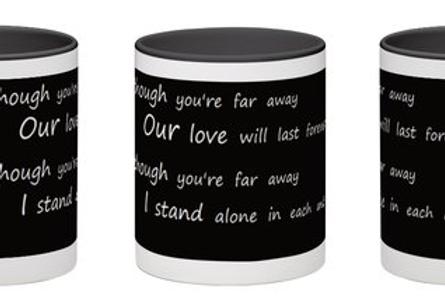 Lyrics mug