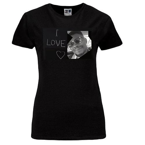 I love Abraham Chuks Ladies T-Shirt