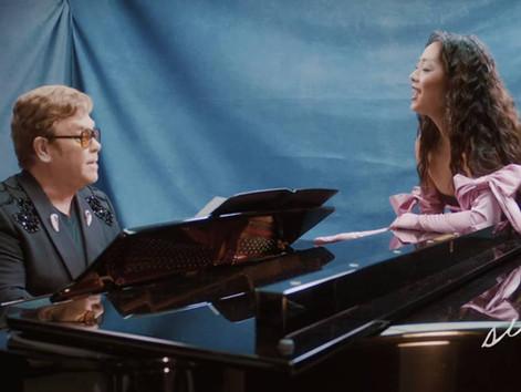 RINA SAWAYAMA AND ELTON JOHN ARE 'CHOSEN FAMILY' AND IT'S TRULY ADORABLE