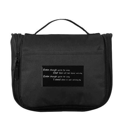 Lyrics Suite Toiletry Bag