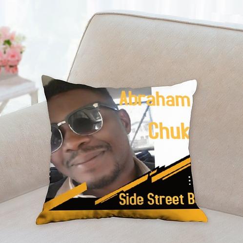 Abraham Chuks cushion