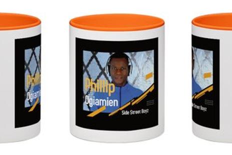 Phillip Ogiamien Side Street Boyz mug