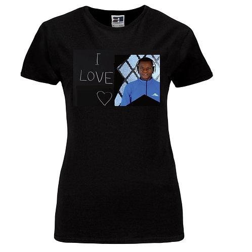 I love Philip Ogiamien  Ladies T-Shirt