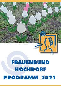 Frauenbund Hochdorf Programm 2021 als PDF