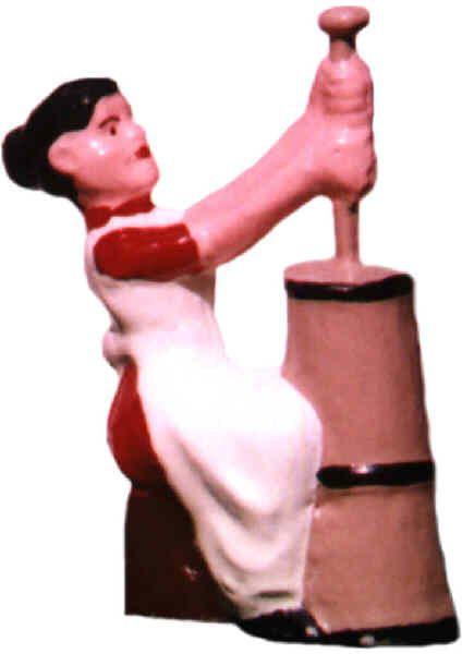 #121 - Lady At Churn