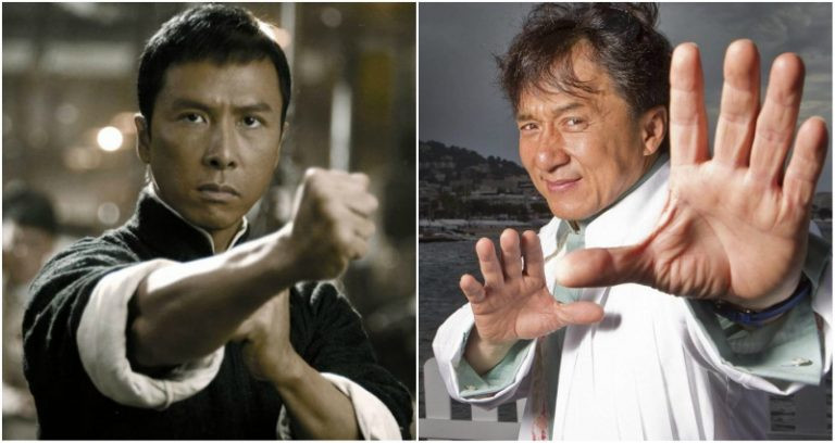 Donnie Yen and Jackie Chan in Ip Man 4