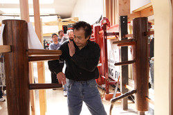 Grandmaster Chris Chan Wooden Dummy