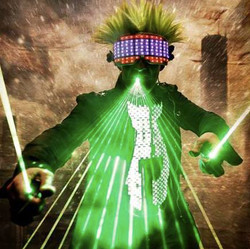 LASER SHOW / PERSONNAGES LUMINEUX