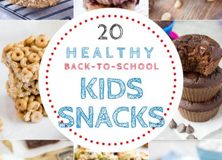 Healthy Back to School Snacks