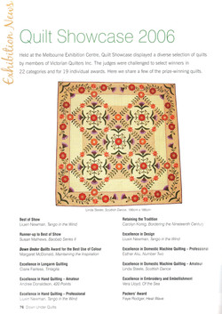 Down Under Quilts 2007 #108