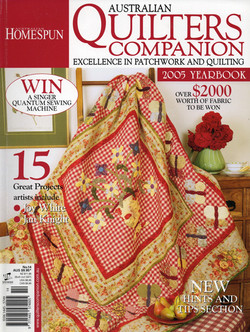 Quilters Companion 2005 Yearbook